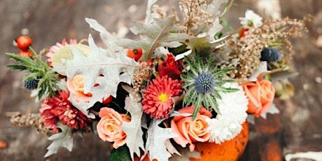 Halloween Harvest DIY Flower Arrangement Class tickets