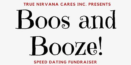 Boosand Booze Speed Dating tickets