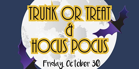 Trunk-or-Treat and Drive-In Hocus Pocus tickets