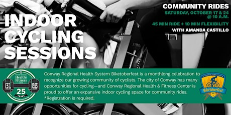 Biketoberfest | Indoor Cycling with Conway Regional Health & Fitness Center tickets