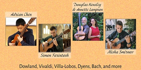Victoria Showcase - Classical Guitar and More! (LiveStream) tickets