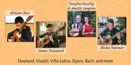Victoria Showcase - Classical Guitar and More! (In Person) tickets