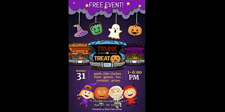 2020 Halloween Trunk or Treat tickets