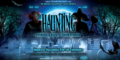 THE HAUNTING @ BERKELEY HOTEL ASBURY PARK tickets