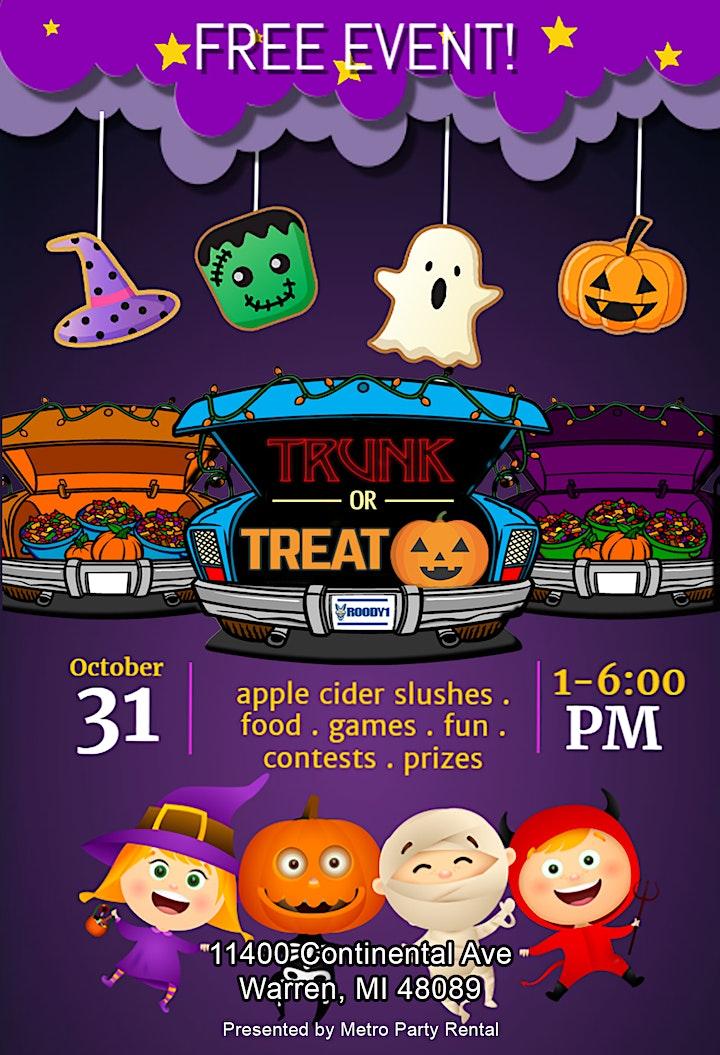 2020 Halloween Events Mi 2020 Halloween Trunk or Treat Tickets, Sat, Oct 31, 2020 at 1:00