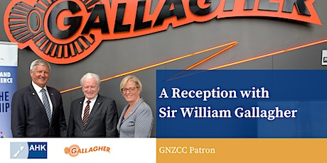 A Reception with Sir William Gallagher tickets