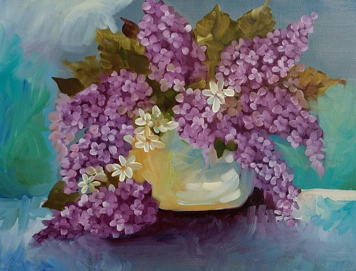 Introduction to Florals  in Oils image