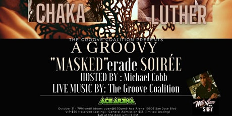 "The Groove Coalition Presents: A Groovy ""MASKED""erade Soirée tickets"
