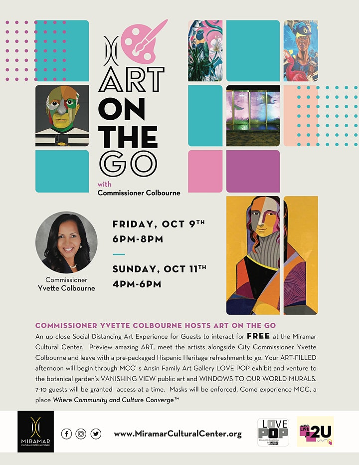 Art on the Go with Commissioner Colbourne image
