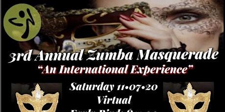"3rd Annual Zumba Masquerade ""An International Experience"" tickets"