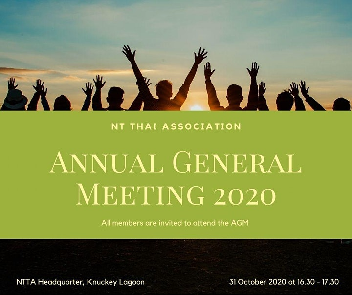 NTTA Annual General Meeting and Loy Krathong Festival 2020 image