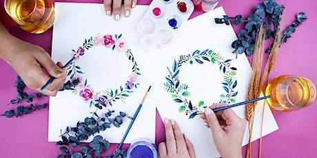 Beginner's Floral Watercolor WebJam tickets