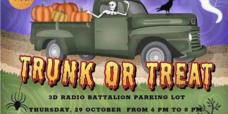 HALLOWEEN TRUNK-OR-TREAT tickets