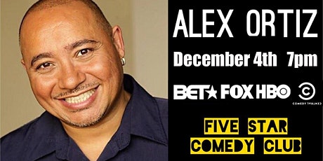 Alex Ortiz Comedy! tickets