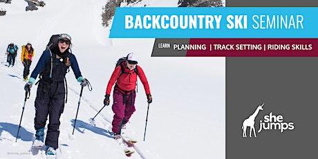 WA SheJumps Backcountry Ski Seminar: Rainier