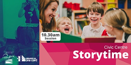 Storytime : Term 4- 10.30am Civic Centre Library tickets