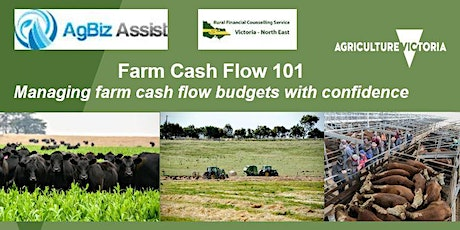 Farm Cash Flow 101 - Managing cash flow budgets with confidence tickets