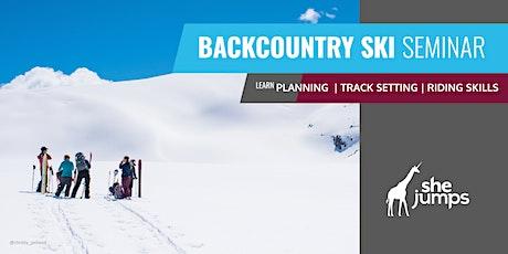 WA SheJumps Backcountry Ski Seminar: Baker