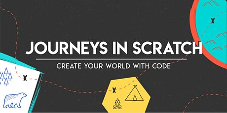 Journeys in Scratch: Create with Code, [Ages 7-10] @ East Coast tickets