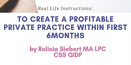 Prioritizing Your Private Practice  boletos