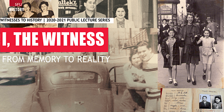 Witnesses to History: I, The Witness - From Memory to Reality tickets