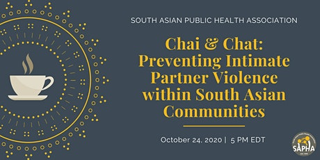 Preventing Intimate Partner Violence within South Asian Communities tickets