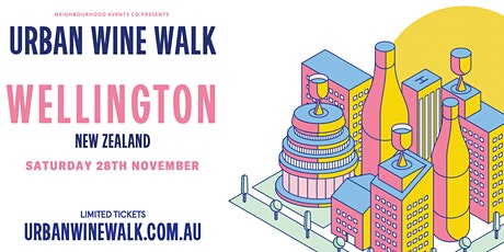 Urban Wine Walk Wellington tickets