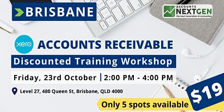 Brisbane Accounts Receivable Discounted Training Workshop tickets
