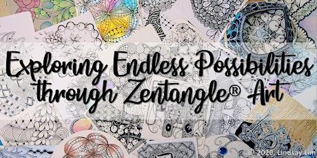Zentangle® Art Course starts Nov 21 (8 online sessions)