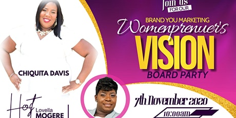 Brand You Marketing Womenprenuer Vision Board Party tickets