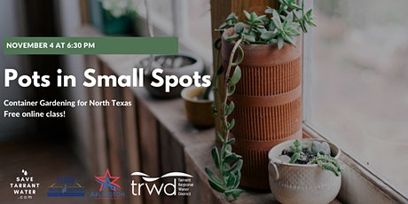 Pots in Small Spots: Container Gardening tickets