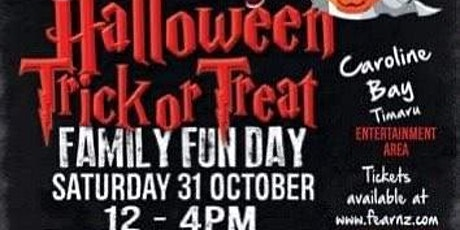 Halloween Trick or Treat tickets