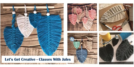 Macrame Feather Class - Morning tickets