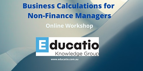 Business Calculations for Non-Finance Managers tickets