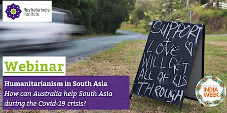 Humanitarianism in South Asia - Webinar tickets