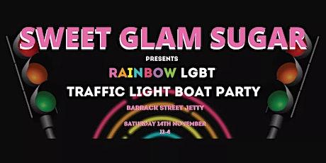 Rainbow LGBT Traffic Light Boat Party tickets
