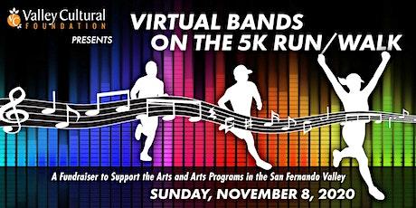 Virtual Bands on the 5K Run/Walk tickets