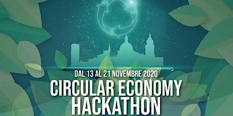 "CIRCULAR ECONOMY HACKATHON ""CLIMATHON 2020"" – DIGITAL EDITION biglietti"