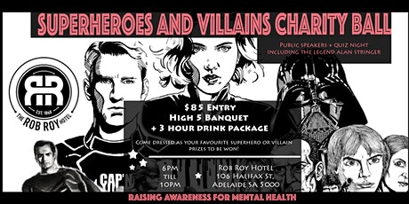 Superheroes and Villains Charity Ball tickets