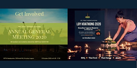 NTTA Annual General Meeting and Loy Krathong Festival 2020 tickets