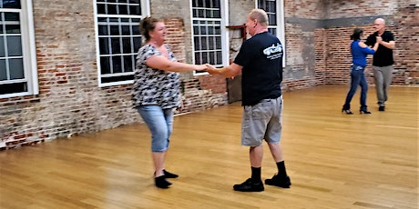 Beginner Triple Step Swing Dance Class--6 wk. session tickets
