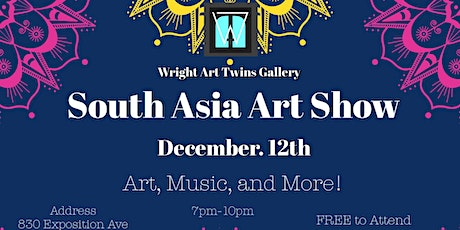 South Asia Art Show tickets