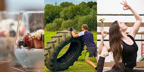 Fitness and Flow at the Farm. Fitness - Yoga - Food plus a Health Q&A tickets