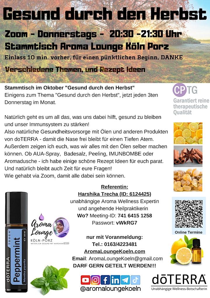 """doterra Stammtisch """"Gesund ins neue Jahr"""" mit der Aroma Lounge Köln Porz: Bild"""