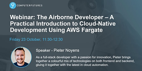 Airborne Developer – Intro to Cloud-Native Development Using AWS Fargate tickets