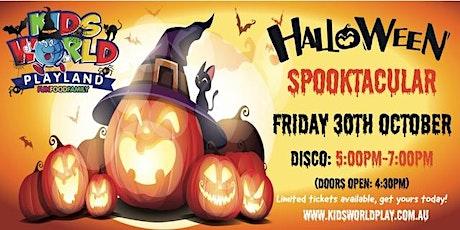 Kids World Playland Bankstown Spooktacular Disco tickets