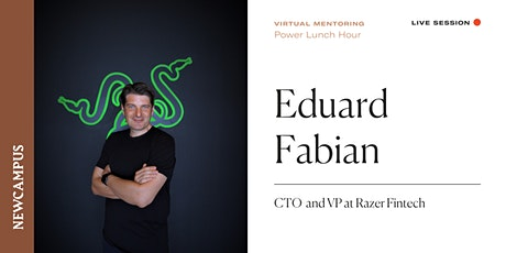 Virtual Mentoring | Power Lunch Hour with Eduard Fabian tickets