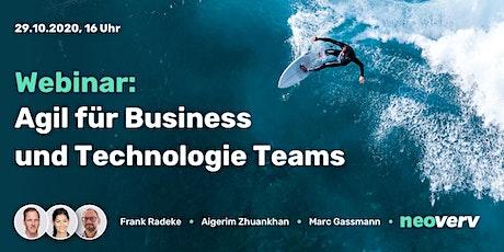 Webinar: Agil für Business und Technologie Teams Tickets