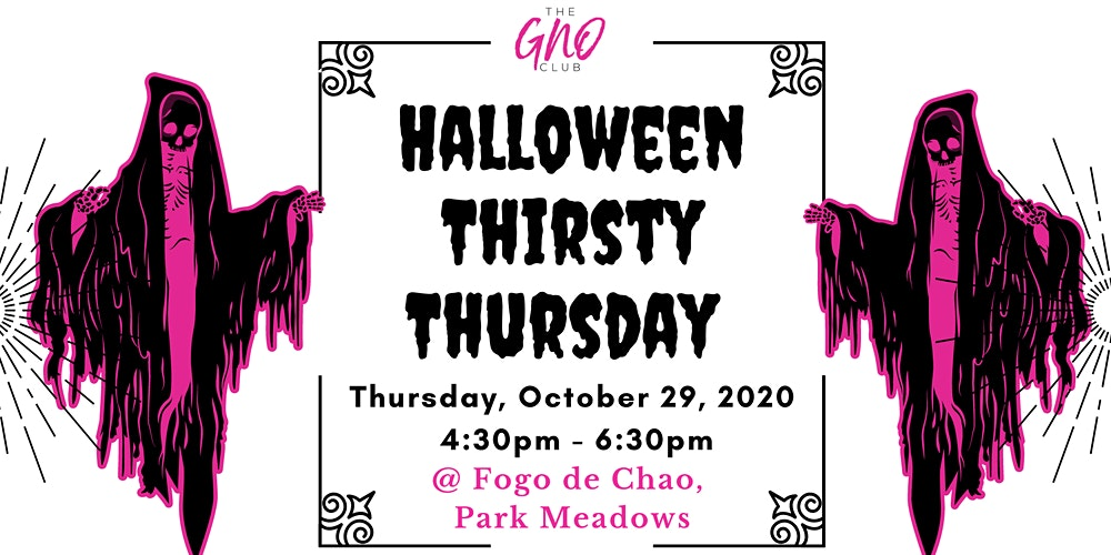 Halloween Park Meadows 2020 The GNO Club's Halloween GNO Party Tickets, Thu, Oct 29, 2020 at 4