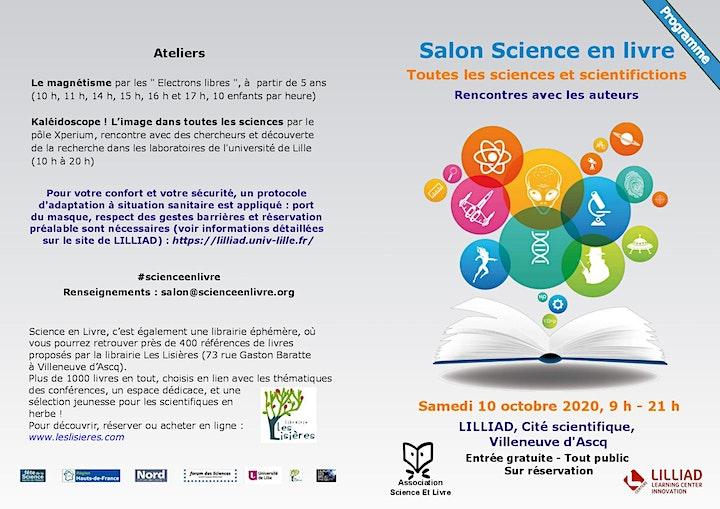 Image pour Salon Science en Livre